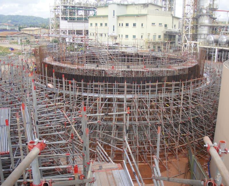Constructing water tank